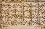 Decoración en una pared. La Alhambra, UNESCO. Ciudad de GRANADA.